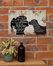 Labrador Girl Therapist Best Friend 17x11 Poster poster-landscape-17x11-lifestyle-23