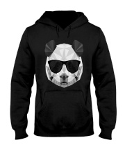 PANDA POLYGONAL  Hooded Sweatshirt thumbnail