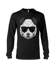 PANDA POLYGONAL  Long Sleeve Tee thumbnail