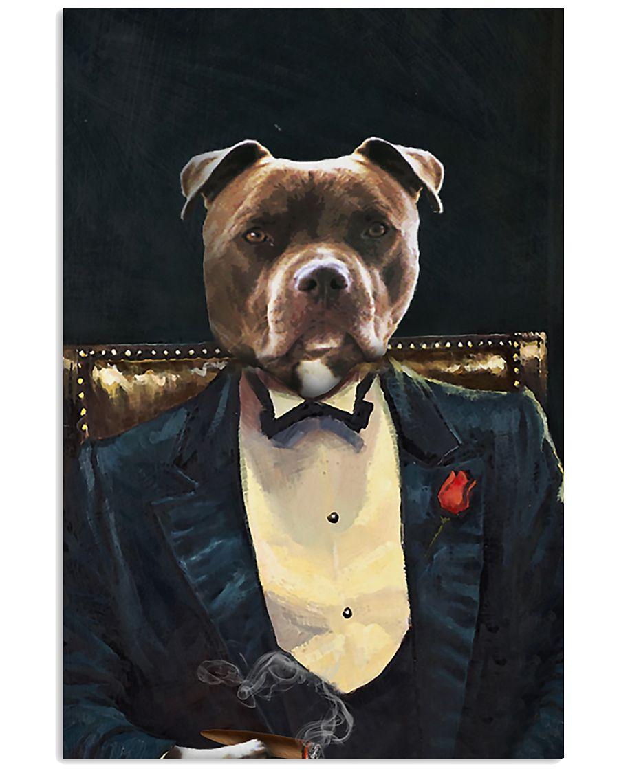 Pitbull Portrait 11x17 Poster