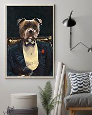 Pitbull Portrait 11x17 Poster lifestyle-poster-1