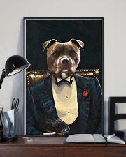 Pitbull Portrait 11x17 Poster lifestyle-poster-2