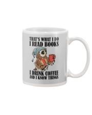 Owl i Read Books i Drink Coffee  Mug thumbnail