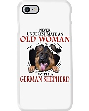 Old Women With Gsd Phone Case thumbnail
