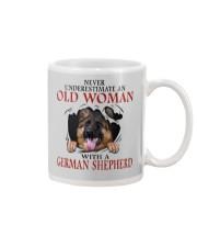 Old Women With Gsd Mug thumbnail