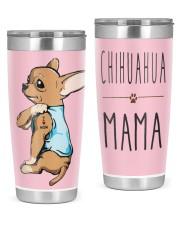 Chihuahua Mama 20oz Tumbler front