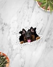 German Shepherd Crack  Sticker - Single (Vertical) aos-sticker-single-vertical-lifestyle-front-06