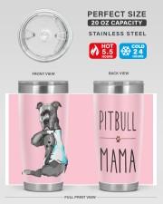 Pitbull Mama 20oz Tumbler aos-20oz-tumbler-lifestyle-front-60