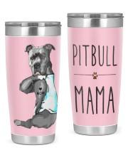Pitbull Mama 20oz Tumbler front