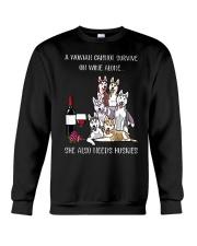 Woman Needs a Husky Crewneck Sweatshirt thumbnail