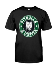 Pitbull Coffee Classic T-Shirt front