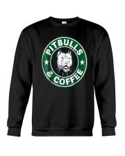 Pitbull Coffee Crewneck Sweatshirt thumbnail