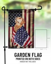 """Golden Retriever American 11.5""""x17.5"""" Garden Flag aos-garden-flag-11-5-x-17-5-lifestyle-front-01"""