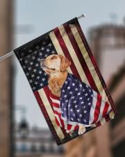 """Golden Retriever American 11.5""""x17.5"""" Garden Flag aos-garden-flag-11-5-x-17-5-lifestyle-front-17"""