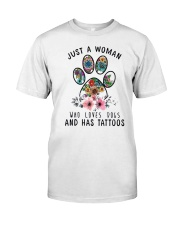 Dogs  and Tattoos Classic T-Shirt front