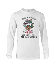 Dogs  and Tattoos Long Sleeve Tee thumbnail
