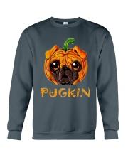 Pug Kin Crewneck Sweatshirt thumbnail