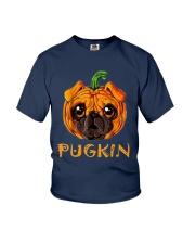 Pug Kin Youth T-Shirt thumbnail