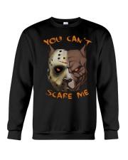 Pitbull You Can't Scare Me Crewneck Sweatshirt thumbnail
