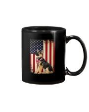 German Shepherd Flag Mug thumbnail