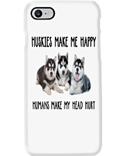 Husky Make Me Happy Phone Case thumbnail
