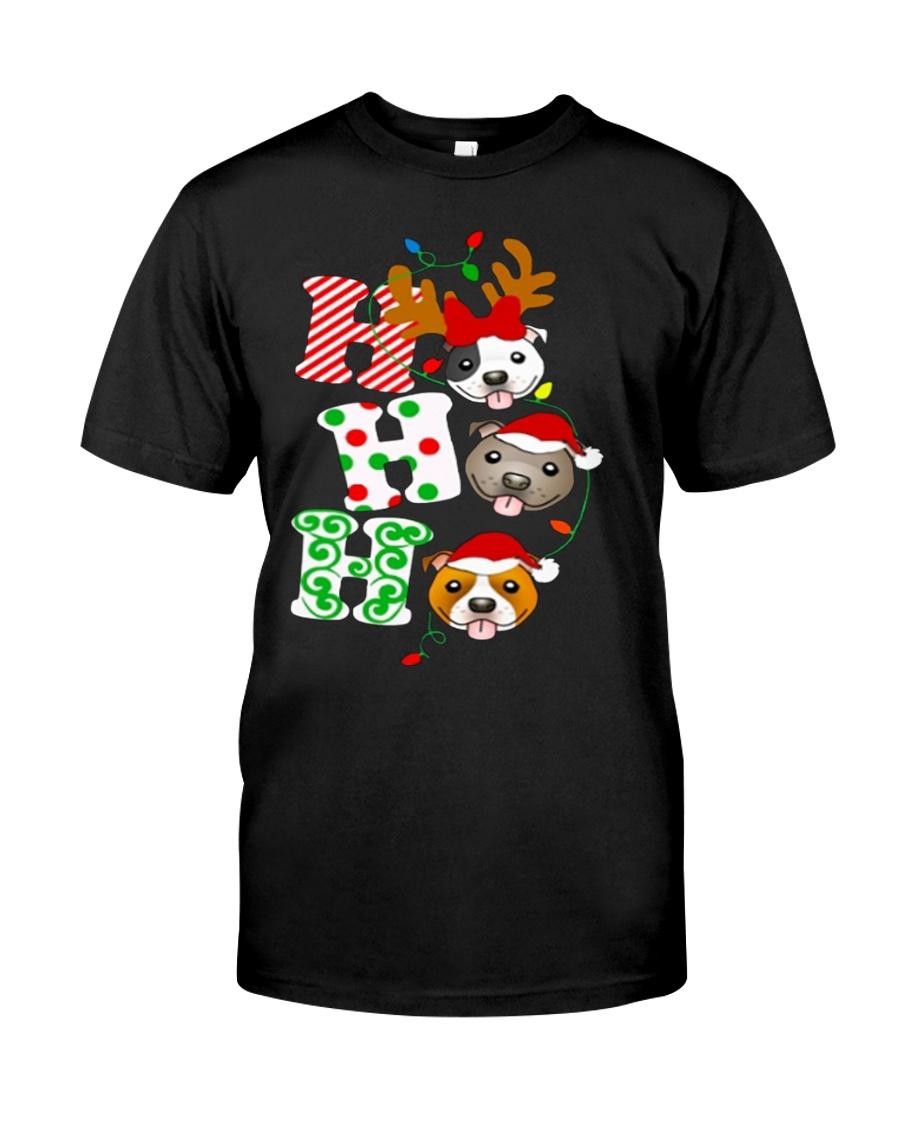 Pitbull Christmas Classic T-Shirt