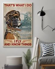 Boxer i Fly And Know Things 11x17 Poster lifestyle-poster-1