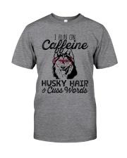 Caffeine Husky Hair Classic T-Shirt front