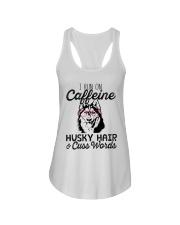 Caffeine Husky Hair Ladies Flowy Tank thumbnail