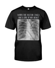 Golden Retriever X-Ray Classic T-Shirt front