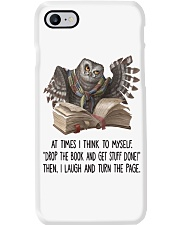 Owl At times i think to myself Phone Case thumbnail