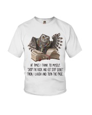 Owl At times i think to myself Youth T-Shirt thumbnail