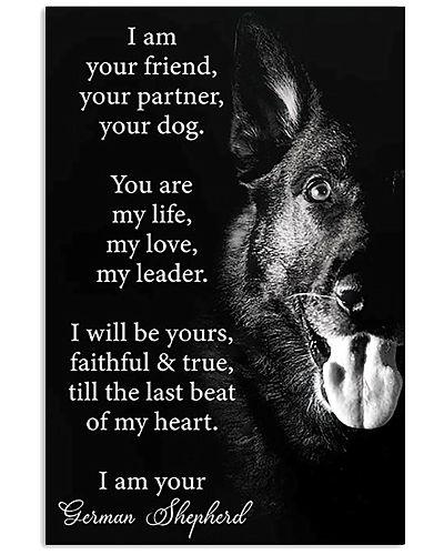 German Shepherd Friend Poster