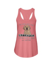 all I Care About is my Labrador  Ladies Flowy Tank thumbnail