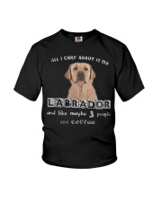 all I Care About is my Labrador  Youth T-Shirt thumbnail