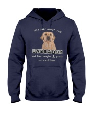 all I Care About is my Labrador  Hooded Sweatshirt thumbnail