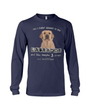 all I Care About is my Labrador  Long Sleeve Tee thumbnail