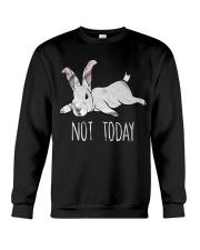 Rabbit Not Today Crewneck Sweatshirt thumbnail