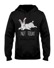 Rabbit Not Today Hooded Sweatshirt thumbnail