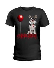 Chihuahua Halloween  Ladies T-Shirt thumbnail