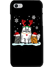 Cats Merry Fluffmas Phone Case thumbnail
