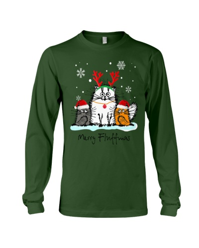 Cats Merry Fluffmas