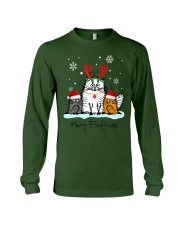 Cats Merry Fluffmas Long Sleeve Tee thumbnail