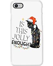 Enough Cat Phone Case thumbnail