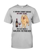 Woman Needs a Golden Classic T-Shirt front