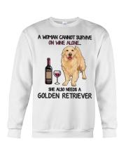 Woman Needs a Golden Crewneck Sweatshirt thumbnail