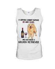 Woman Needs a Golden Unisex Tank thumbnail