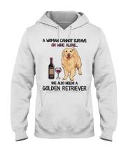 Woman Needs a Golden Hooded Sweatshirt thumbnail