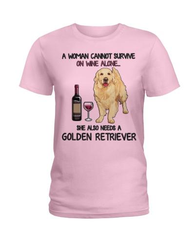 Woman Needs a Golden