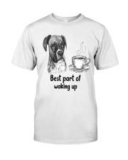 Boxer Best Part Classic T-Shirt front